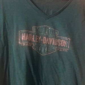 Ladies Harley Davidson Short Sleeve shirt